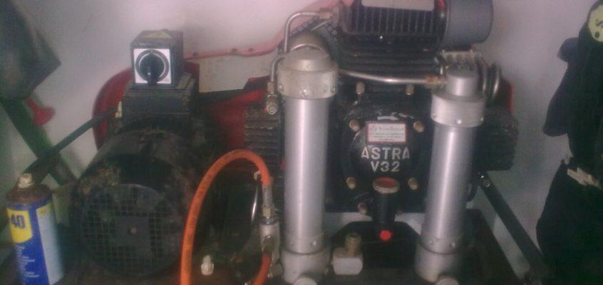 Scuba tank refill