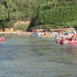 Sandy beaches on the island of Susak